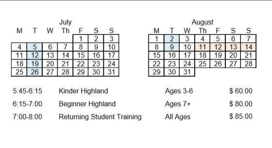 Summer 2016 Information v2